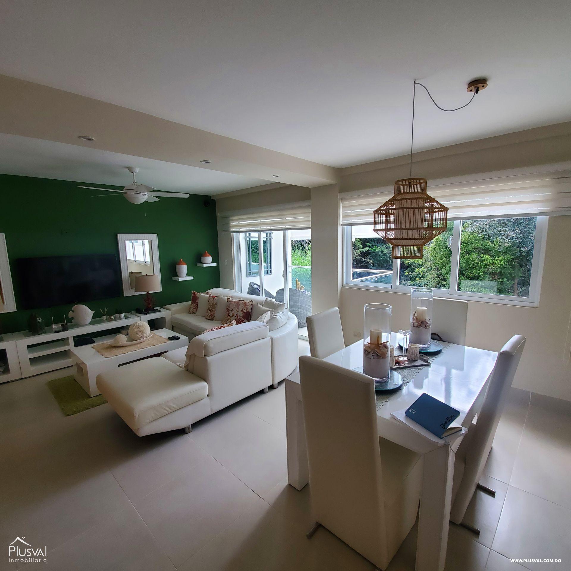 Apartamento en venta totalmente amueblado, Punta Cana