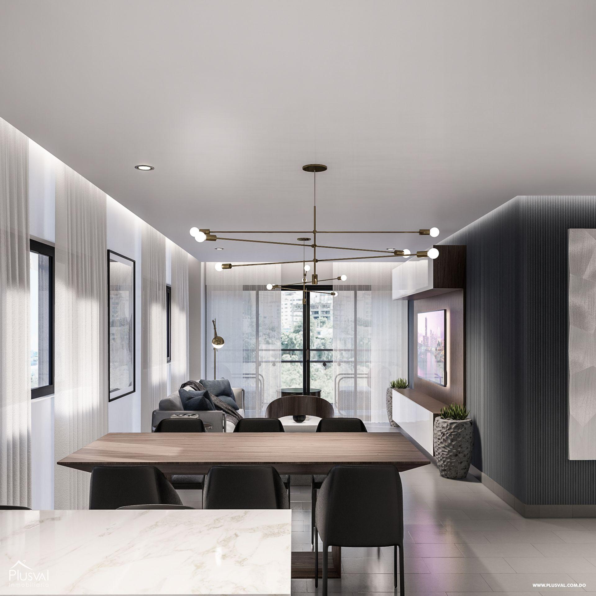 Apartamentos de 2 y 3 habitaciones con todas las amenidades en Los Restauradores 159092