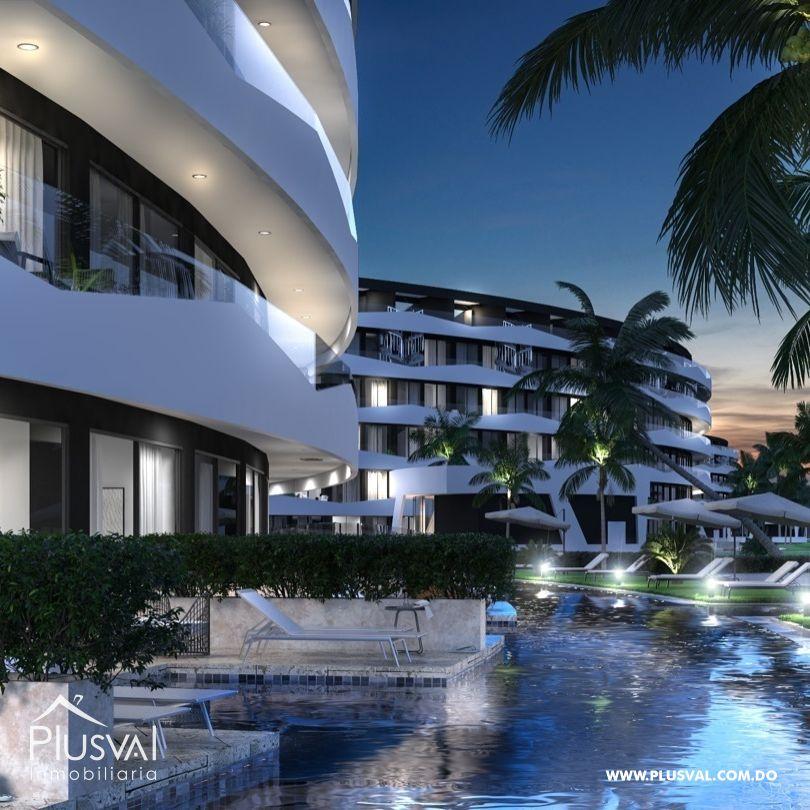 Apartamentos cerca de la playa en Cana Bay
