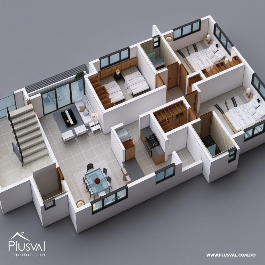 Moderno Edificio de Apartamento 161516