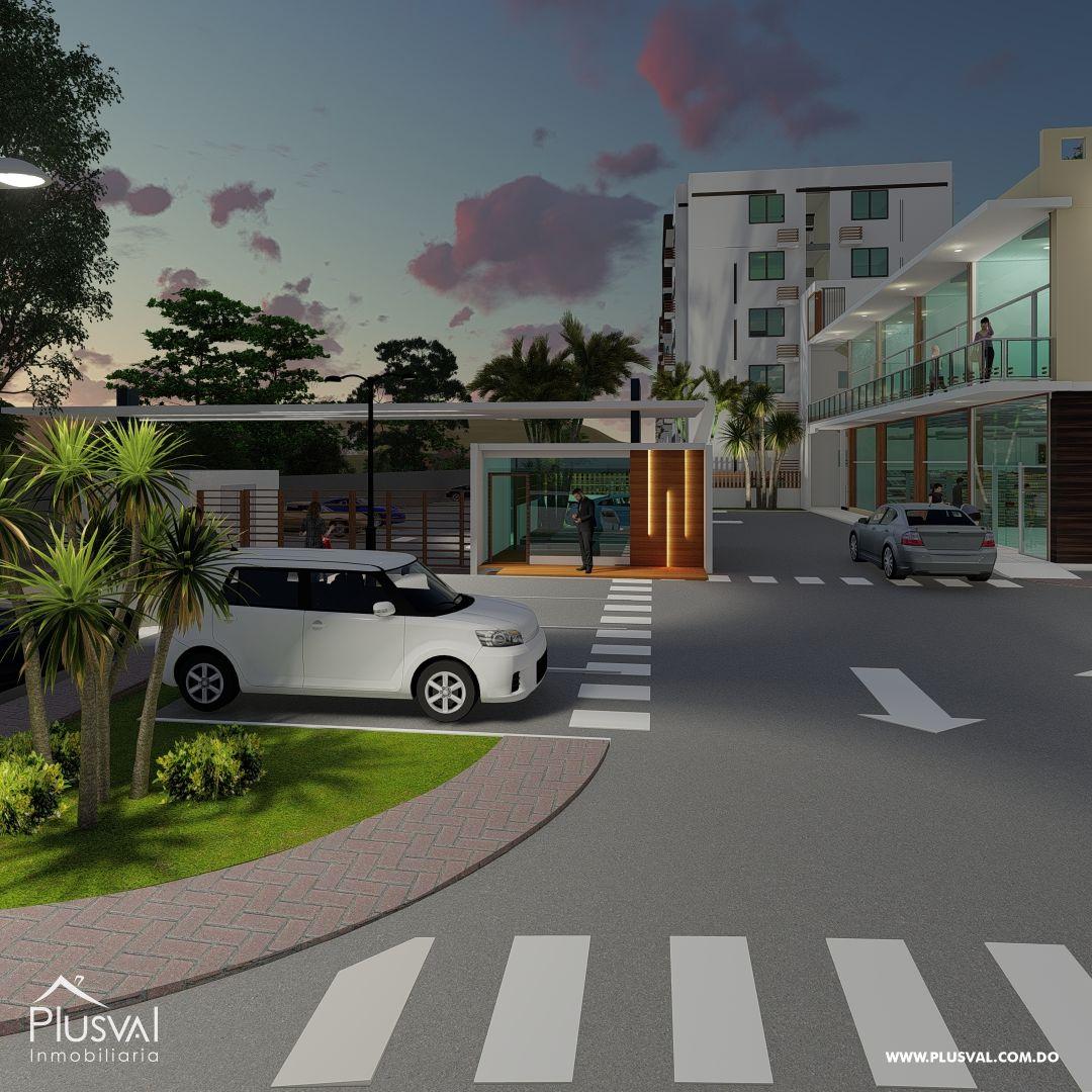Moderno Proyecto de Apartamentos en Santiago