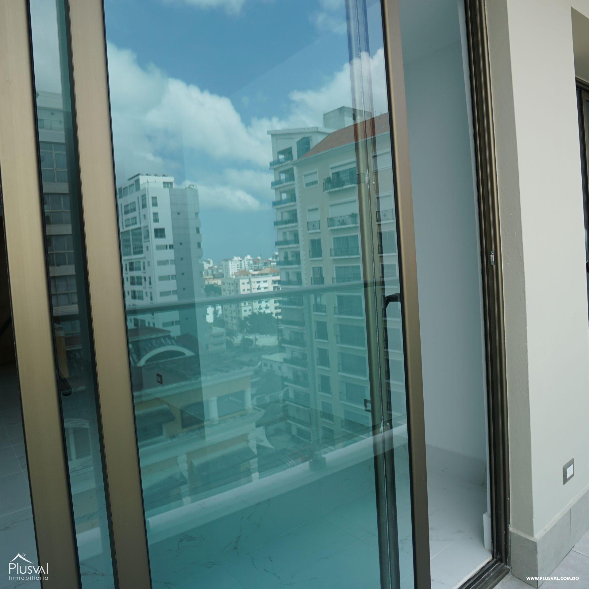 Apartamento en alquiler con linea blanca en Piantini 183092