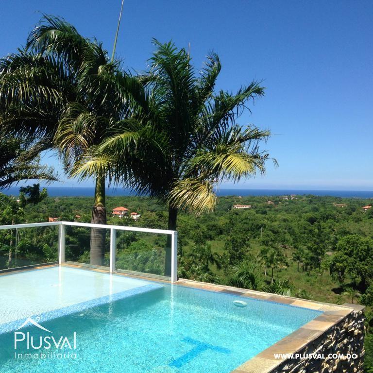 Hermosa residencia privada con vista al mar