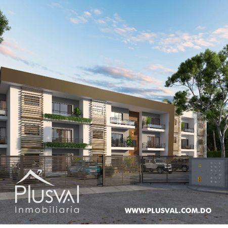 Apartamento de 2 habs en venta con Piscina, en Punta Cana 173013
