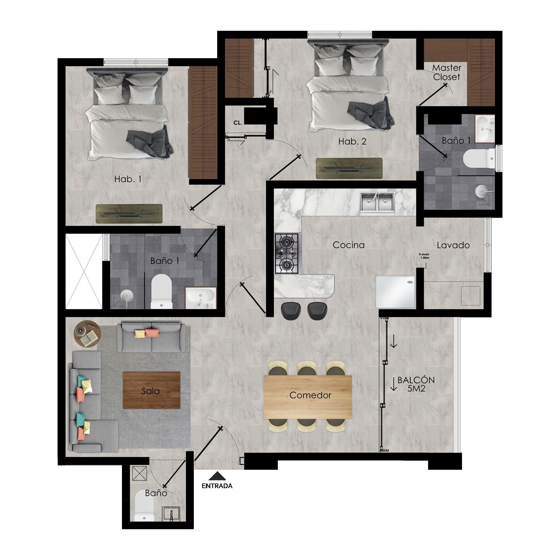 Apartamentos en venta próximo a MEGA CENTRO, Carretera Mella Sto. Dgo. Este 154914