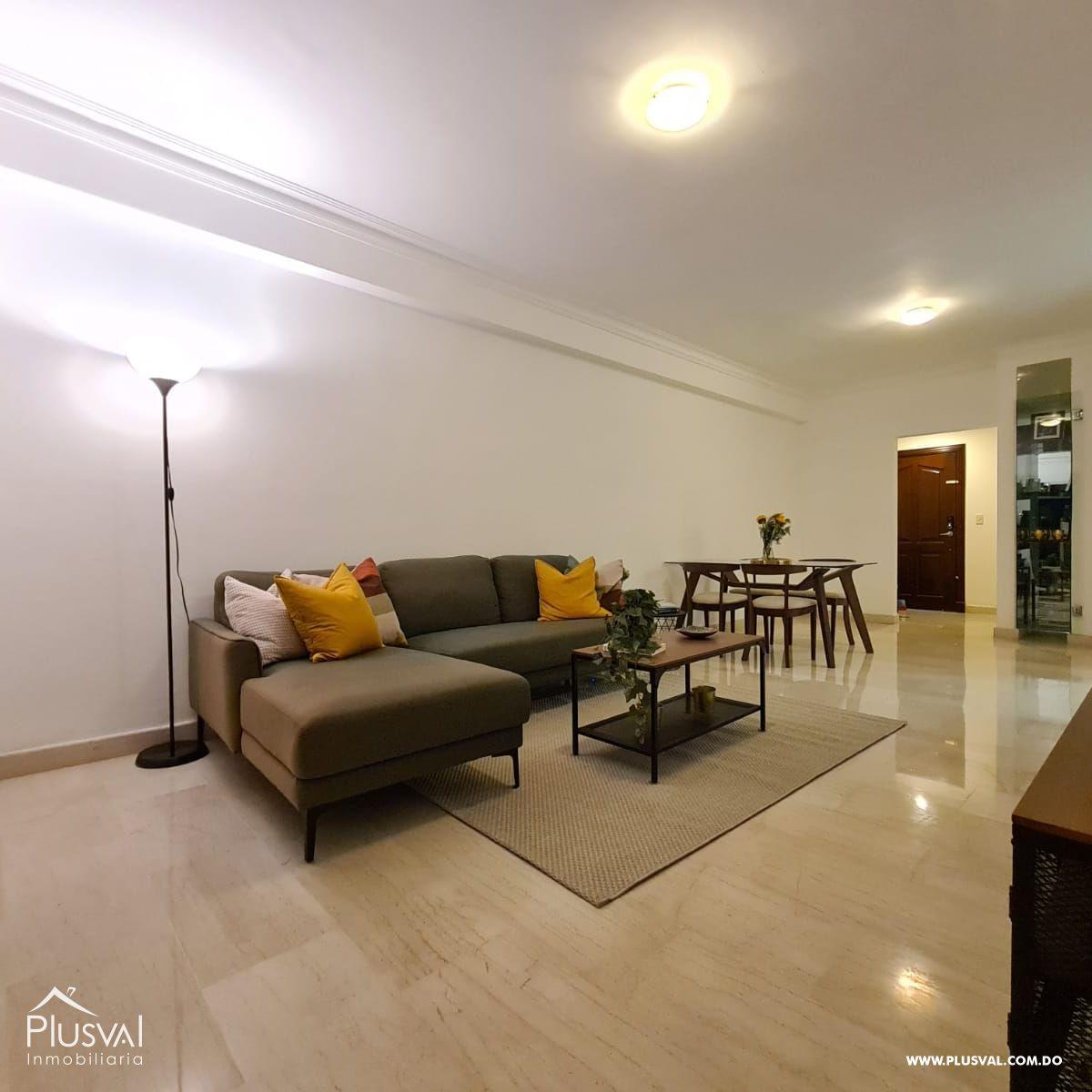 Apartamento amueblado en alquiler, Naco 188901