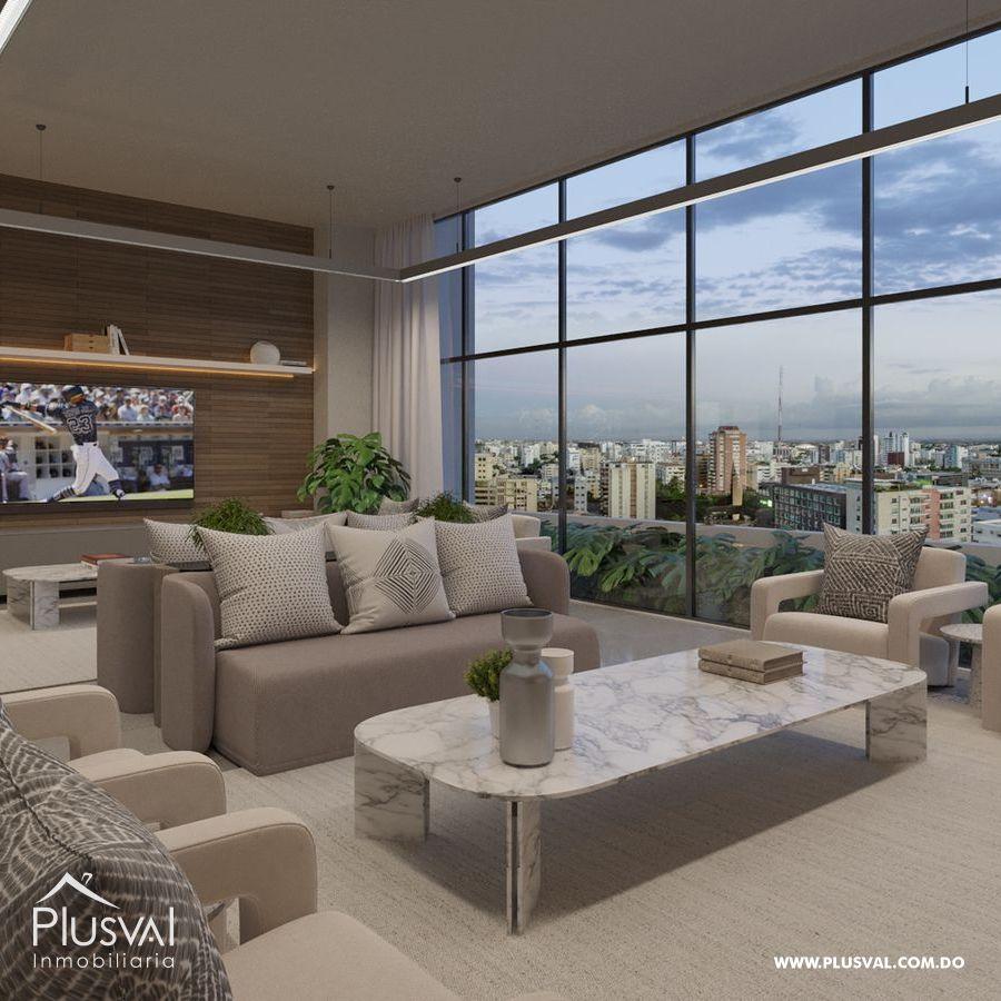 Moderno proyecto de apartamentos de 1 y 2 hab. en Naco 183195