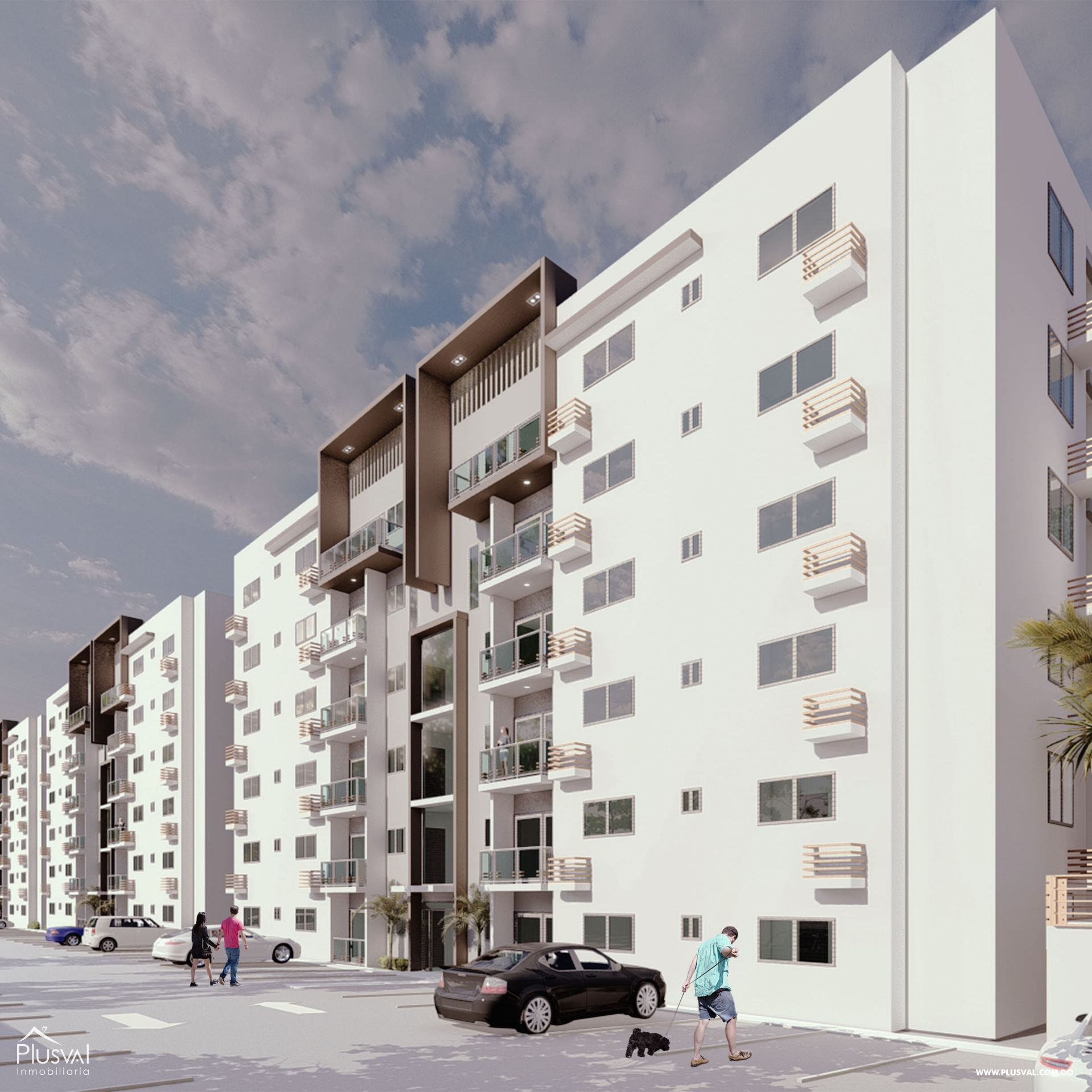 Moderno Proyecto de Apartamentos en Santiago 166985