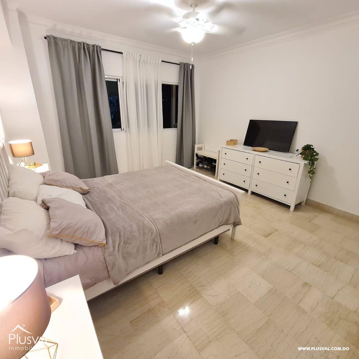 Apartamento amueblado en alquiler, Naco 188906