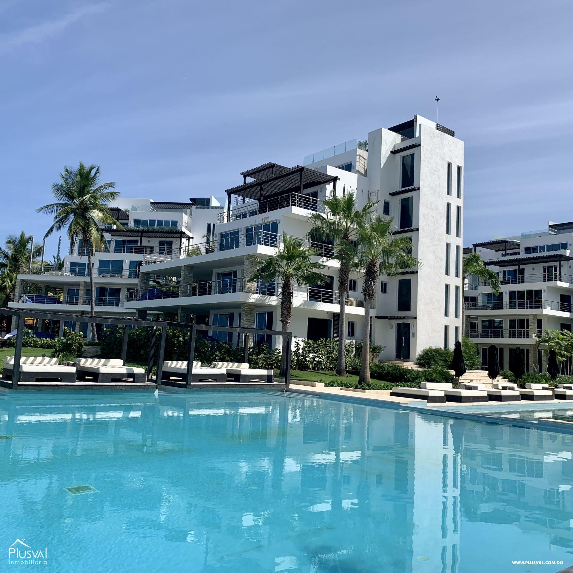 Apartamento en Sosua en lujoso complejo frente al Mar