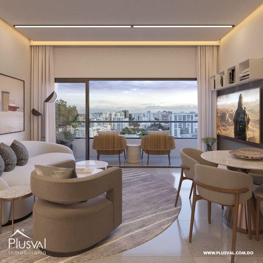 Moderno proyecto de apartamentos de 1 y 2 hab. en Naco 183197