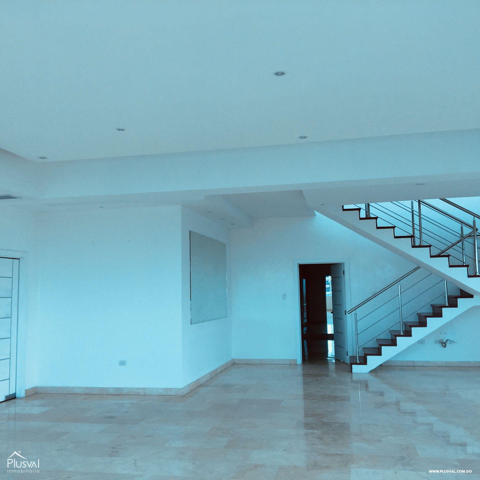 PentHouse en alquiler, Piantini