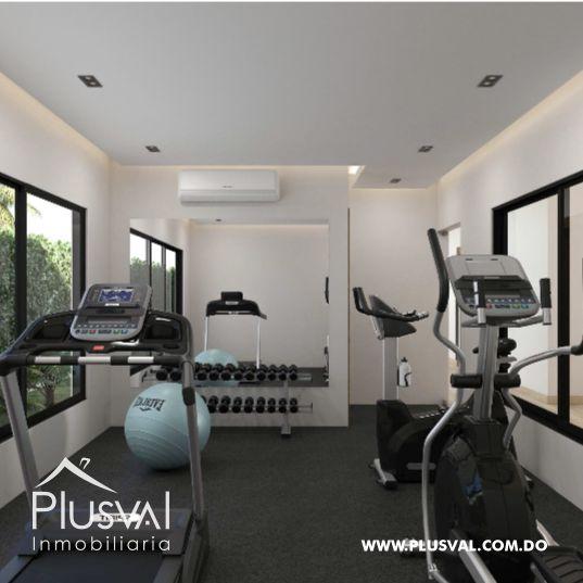 Apartamento de 2 habs en venta con Piscina, en Punta Cana 173018