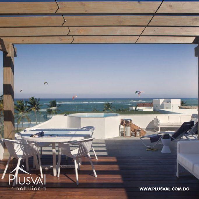 Hermoso proyecto ubicado en el corazón de Cabarete justo sobre la playa 180613