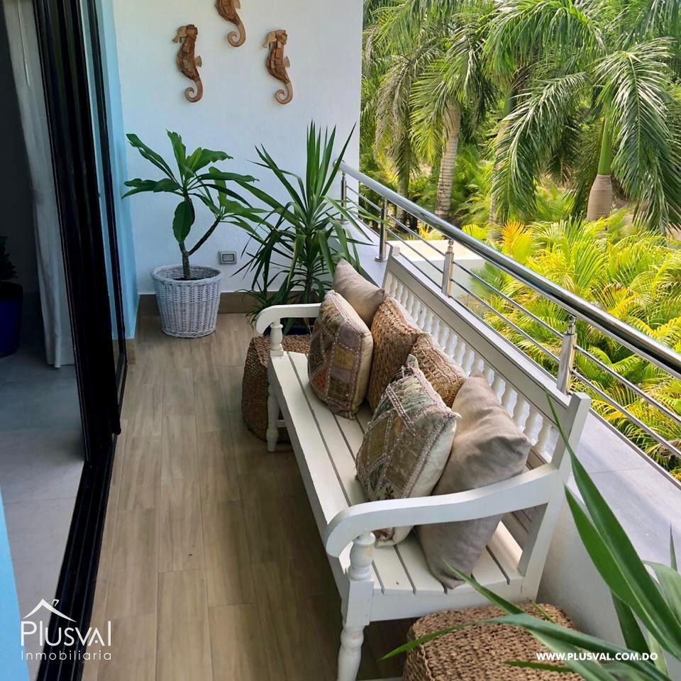 Apartamento de 2 habs amueblado en Venta, en Puntacana Village con piscina 167256