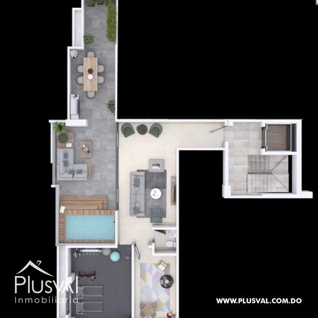 Proyecto de 2 y 3 habitaciones en los restauradores 167763