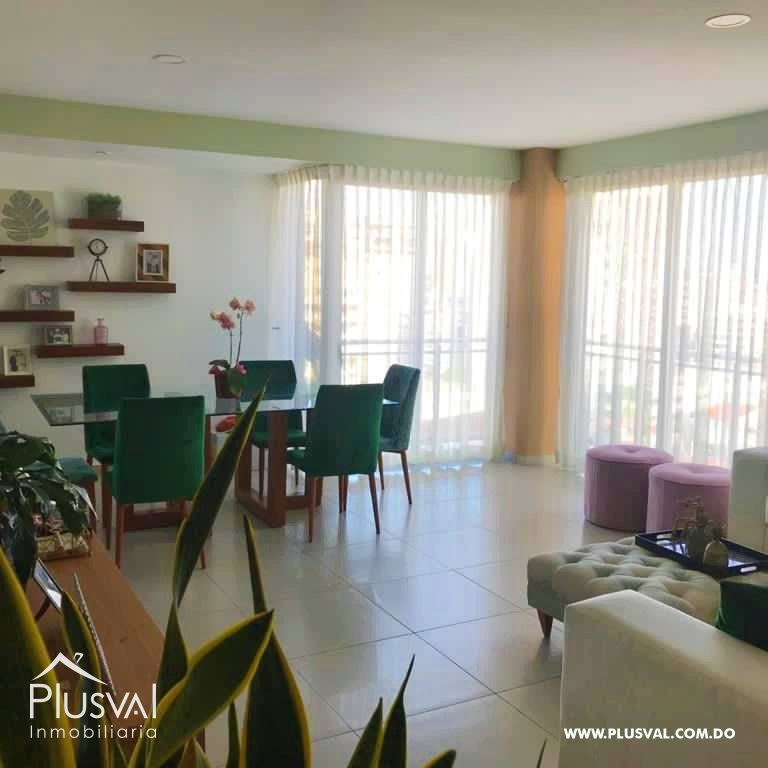 Apartamento en alquiler con LINEA BLANCA en Evaristo Morales 177996