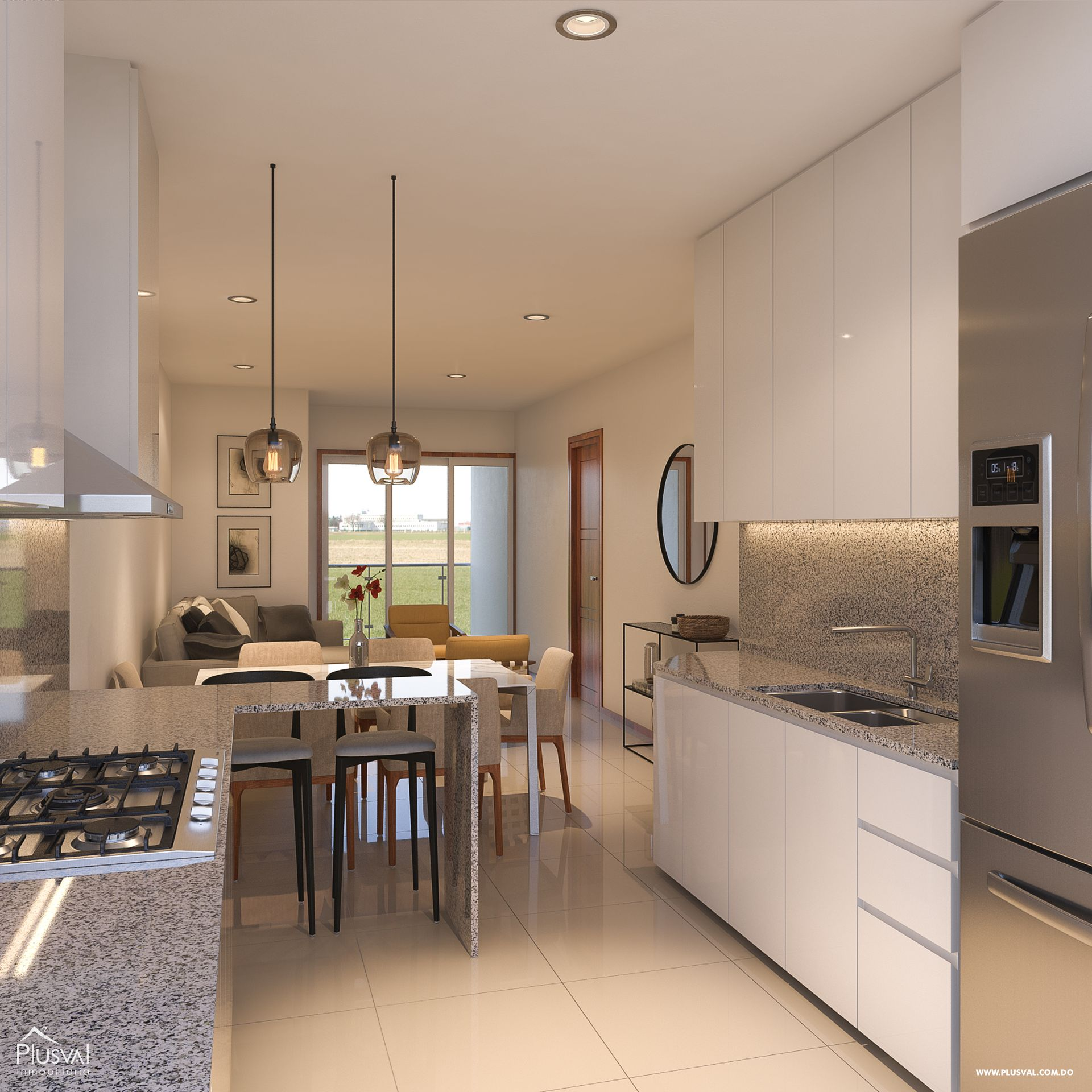 Apartamento en venta, ubicado en Luisa Perla, Higuey