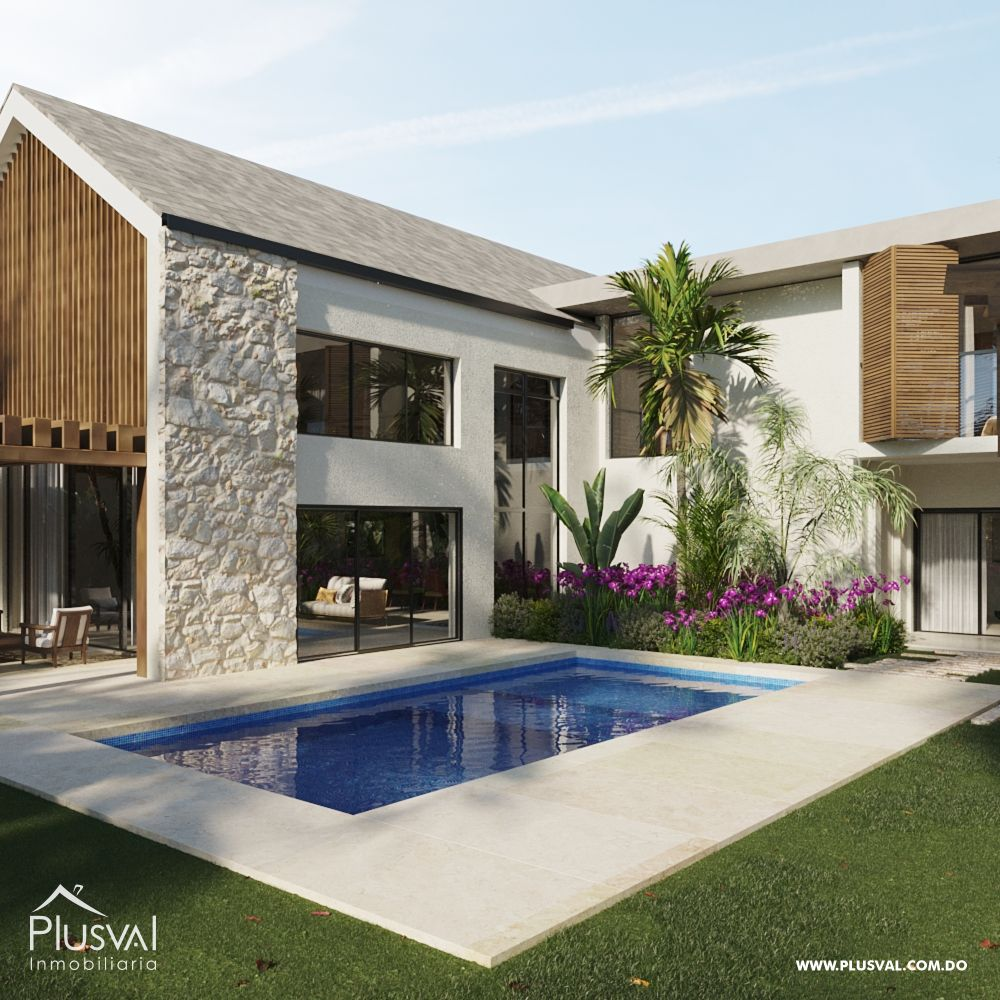 Villas en Venta, a solo 10 minutos del Aeropuerto de Punta Cana